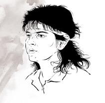 ilustración para t-shirt. Un proyecto de Diseño e Ilustración de Pablo  García García         - 20.10.2012