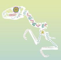 dinosaurios de azúcar. A Illustration project by Victoria Haf         - 21.10.2012