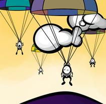 Parachutes. Um projeto de Design e Ilustração de Aránzazu  García Martín - 02-11-2012