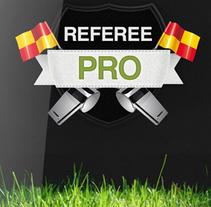 Referee PRO. Um projeto de UI / UX de Federico Crivellaro         - 30.01.2017