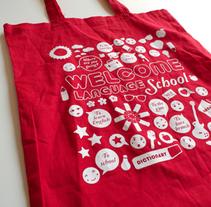 Welcome LS / Bolsa reutilizable. A Design&Illustration project by Serena Vacas - Nov 13 2012 02:34 PM