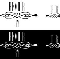 Revoir By Logo. Un proyecto de Diseño de Isabel Martín - Domingo, 18 de noviembre de 2012 19:22:39 +0100