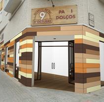 PANADERÍA 9 DE OCTUBRE. Un proyecto de Diseño, Instalaciones, Fotografía y 3D de Diseño Interior         - 26.11.2012