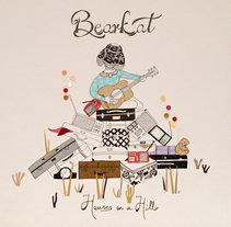 Bearkat. Diseño de álbum.. Un proyecto de Ilustración de Estibaliz Hernández de Miguel - 02-12-2012