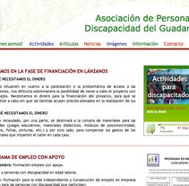 Web Adisgua. Un proyecto de Desarrollo de software de Marta Casado García - 29-12-2012