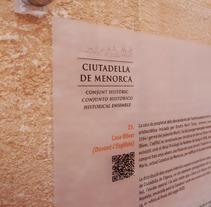Placas identificativas. A Design project by Luis Moreno  - 10-01-2013