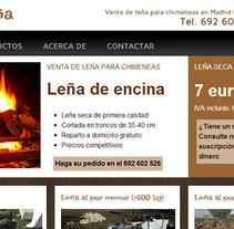 Doña Leña. A Design, and UI / UX project by Laura Blanco García         - 11.01.2013