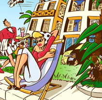 Ilustración. A Illustration project by paco casares         - 14.01.2013