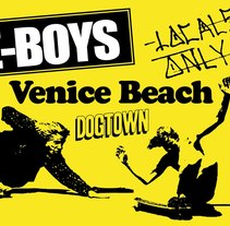 Diseño de Camiseta Z-Boys, Venice Beach. A Design&Illustration project by Diego  Gómez - 19-01-2013