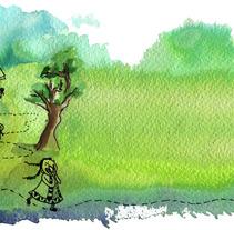 Sombra Picaflor. Un proyecto de  de Alejandra Ramírez         - 20.01.2013