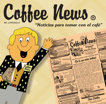 Coffee News . A Design project by Claudia Tripputi - 23-01-2013
