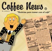 Coffee News . Um projeto de Design de Claudia Tripputi - 23-01-2013