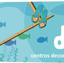 CENTROS DECOMAR. A Design, Illustration, and Photograph project by Acuarela Design         - 24.01.2013