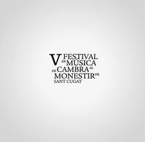 V Festival de Música de Cambra. A Design, and Advertising project by Albert Balagueró         - 29.01.2013
