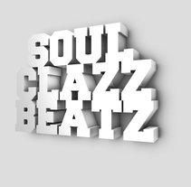 logo portada trasera soul clazz beatz. A Design, and 3D project by adrian balanza blaya - 11-02-2013