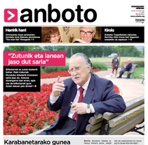 Re-diseño del periódico Anboto. Un proyecto de Diseño de Nuria  - Martes, 12 de febrero de 2013 13:00:07 +0100