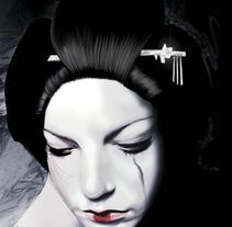 Geisha. A Illustration project by Jose Angel Trancón Fernández         - 14.02.2013