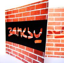 Diseño Editorial: Banksy. Um projeto de Design de Delia Ruiz         - 21.02.2013