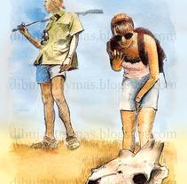 Ilustraciones para el libro . Un proyecto de Ilustración de Dibujante y más! Alfredo G.         - 22.02.2013