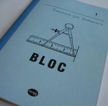 Bloc. Um projeto de Design de Sara Cruz Molina - 03-03-2013