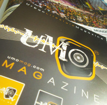 UMO mag. A Advertising, and Design project by firstelement - Mar 09 2013 01:02 AM