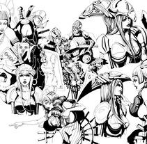 Alice in wonderland / Alicia en el país de las maravillas . A Illustration project by Laura Portolés Moret - 15-03-2013