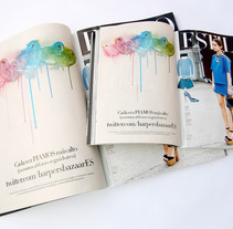 Harper´s Bazaar Abril 2013. A Design, Illustration, Advertising, Installations, Photograph, and UI / UX project by Gabriel Delgado Wicke         - 21.03.2013