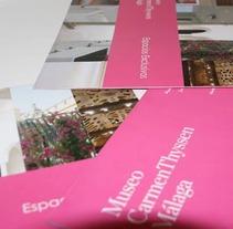 Museo Carmen Thyssen Málaga. Un proyecto de Publicidad y Diseño de aidearte - Domingo, 17 de marzo de 2013 12:08:27 +0100