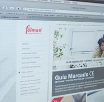 web comercial felman. Un proyecto de Diseño y Desarrollo de software de Chary Esteve Vargas - 24-03-2013