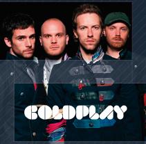 Coldplay. Um projeto de Design e Publicidade de Carlos Flórez         - 30.03.2013