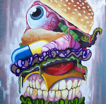 Burguer Kill. A Illustration project by Fernando López Tarodo - 06-04-2013