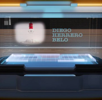 Intro Diego Herrero Belo 3d Modeling. A Design, Illustration, Motion Graphics, Film, Video, TV, and 3D project by xavi  - 25-04-2013
