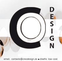 Tarjeta corporativa reverso. A Design project by Eva          - 26.04.2013