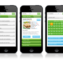 CookEat. A UI / UX, and Design project by Pablo Mateo Lobo - May 02 2013 06:06 PM