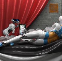 Venus del espejo 2.0. Um projeto de Ilustração e 3D de Francisco Huezo García         - 09.05.2013