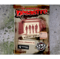 Desastre rock band web. A Design, and UI / UX project by MrSrOne         - 10.05.2013