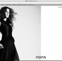 Nona. Fashion designer (website).. A Software Development, and Design project by Víctor Arráez Abad - May 11 2013 10:14 PM