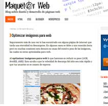 Maquetar Web. A Design, Software Development, Photograph, and UI / UX project by Pablo Formoso         - 13.05.2013