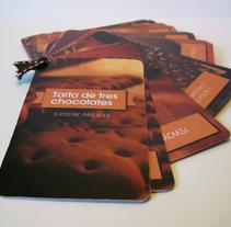 Rediseño de receta. Un proyecto de Diseño y Fotografía de Lúa Louro Glez         - 31.05.2013