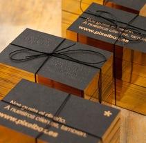 Tarjetas pixelbox. Un proyecto de Diseño de Pablo Fernández Tejón - Martes, 04 de junio de 2013 12:26:46 +0200