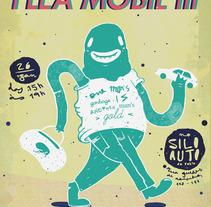 Flea Market Mobil. Um projeto de Design e Ilustração de olaulau         - 05.06.2013