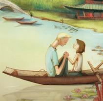 Miel en China. Um projeto de Ilustração de Cristina Rosado         - 11.06.2013