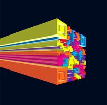 Portada catálogo Fresma Logistic. Un proyecto de Diseño e Ilustración de Refrito Studio         - 06.06.2013
