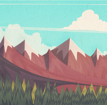 landscape. A Design, Illustration, and Advertising project by marc marín          - 20.06.2013