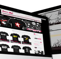 Tienda - Process Black Couture. A Design, Advertising, and Software Development project by David Vallejo Perez         - 21.06.2013