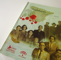 Libro. Andaluces, perfiles y voces. A Design, Illustration, and Photograph project by Fani Brzozowski         - 08.07.2013