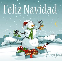 Felicitacion Navidad. A Illustration project by Pedro Fernandez Fernandez - Jul 11 2013 01:45 PM
