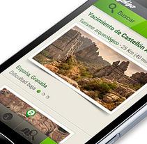 App Rutas. Un proyecto de Diseño de Roberto Martín         - 11.07.2013