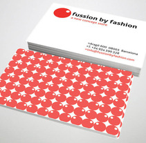 Identdad corporativa Fussion. A Design project by Mireia  Llobera Escorsa - Aug 01 2013 12:35 PM