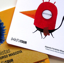Mascota Ilustratour. Un proyecto de Ilustración y Publicidad de Alex Fernández - 06-09-2013